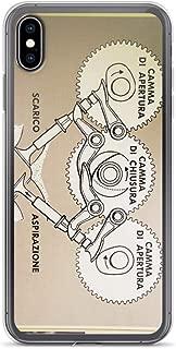 rebecc Ducati Desmo Case Cover Compatible for iPhone (7 Plus/8 Plus)