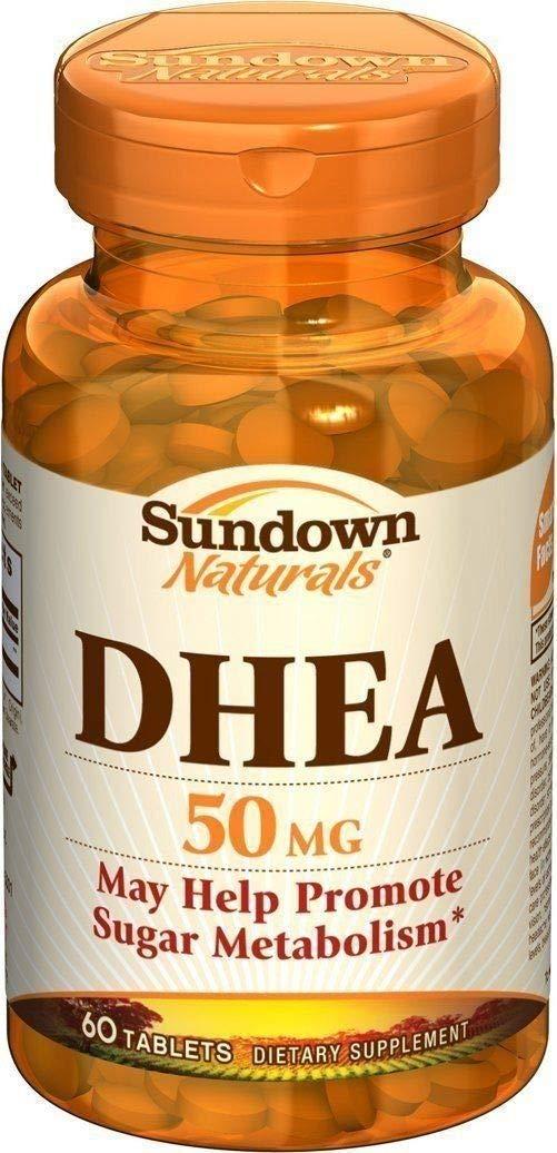 Sundown Naturals DHEA 50 Tablets