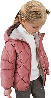 Curipeer Kids Winter Jacket with Hooded Warm Snow Toddler Outer Clothing