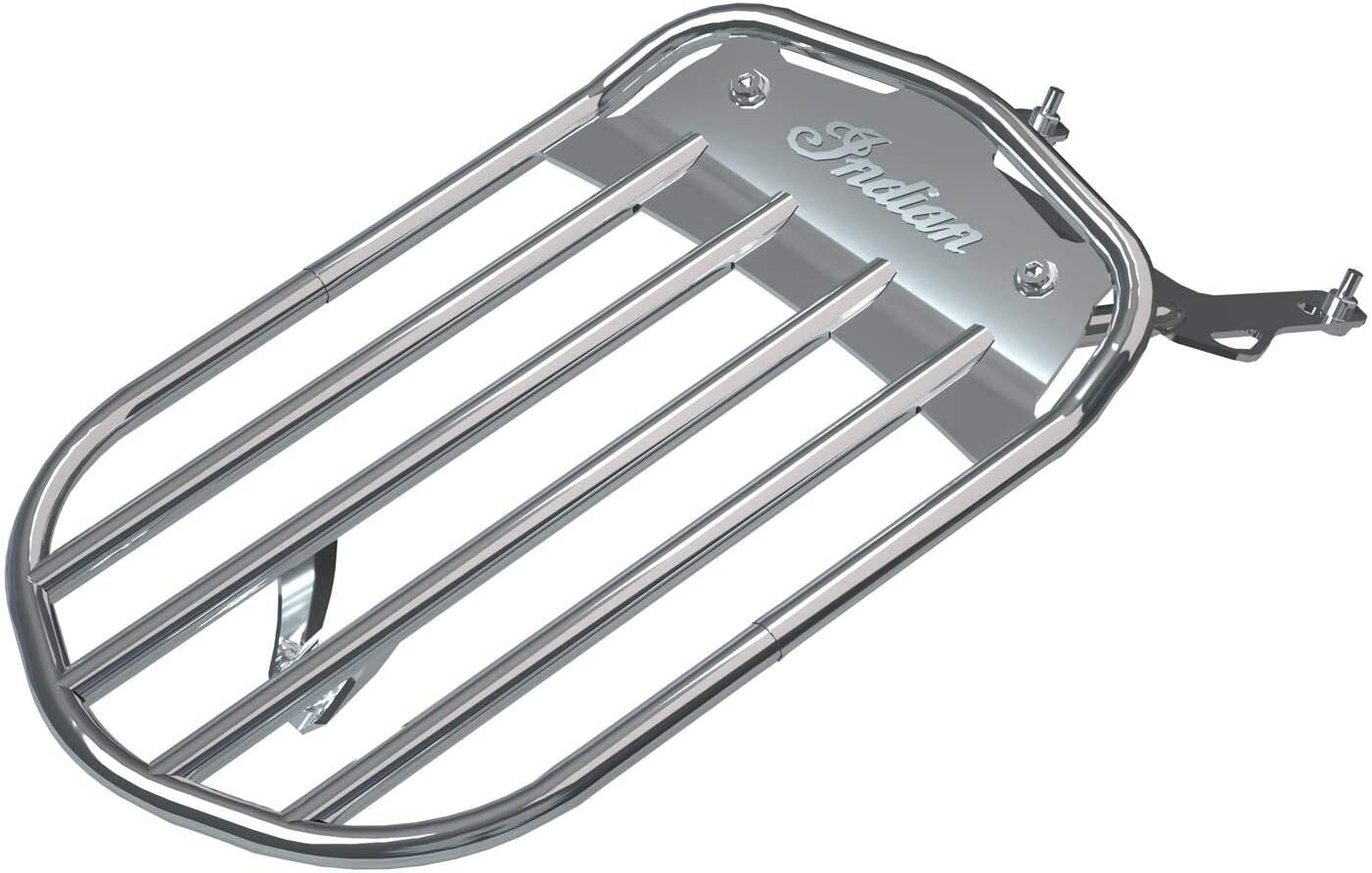 In a popularity Indian Motorcycle Virginia Beach Mall Pinnacle Solo Luggage Rack 2883403-1 - Chrome