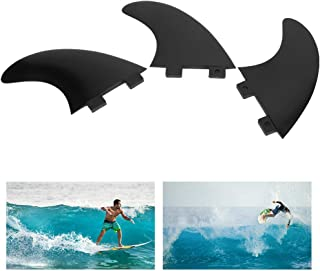 FCS Surfboard Fin, Convenient Surfboard Fin 3 Fin Design with 3 X Surfboard Tail Fin for Surf