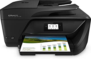 HP OfficeJet Pro 6950 - Impresora Multifunción (Tinta Color, Fax, Copiar, Escanear, Impresión a Doble Cara, 4800 x 1200 PPP, Incluido 2 Meses de HP Instant Ink) Color Negro