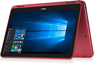 Dell Inspiron 11 i3185-A626RED 11.6 inches LCD/LED Convertible Tablet-PC - AMD A6-9220e 2.90 GHz, 4 GB RAM, 64 GB eMMC, AMD Radeon R4, Windows 10 - Red