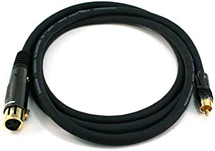 Premier Series XLR Female to RCA Male 16AWG Cable 10 Feet, CNE601298