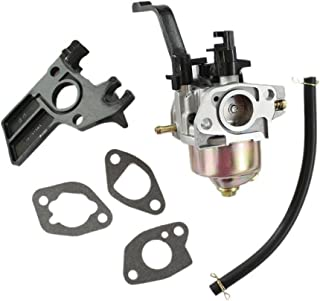 HURI Carburetor + Intake Manifold + Gaskets for Champion Power Equipment 3500 4000 Watts Gas Generator