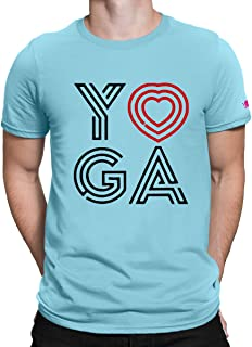 e26fb51d3 PrintOctopus Graphic Printed T-Shirt for Men & Women | Yoga Tshirt | Half  Sleeve