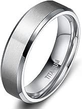 Best wide titanium mens rings Reviews