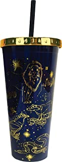Spoontiques Harry Potter Constellations Foil Cup w/Straw, 20 Ounces