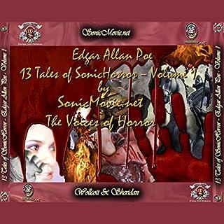13 Tales of Sonic Horror by Edgar Allan Poe, Volume 1 audiobook cover art