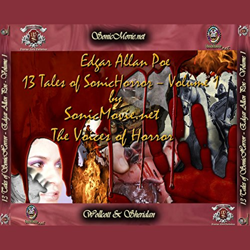 13 Tales of Sonic Horror by Edgar Allan Poe, Volume 1 cover art