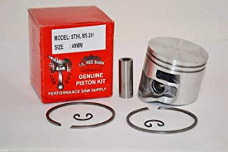 Lil Red Barn Stihl MS391 Piston Kit, 49mm Bore,Replaces Stihl Part # 1140-030-2008 Quality ToolingShips from The USA
