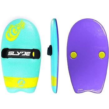 Slyde Handboards ハンドプレーン Grom モデル ターコイズ&パープル