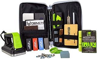 Demon Mechanic Elite X Ski Tuning Kit & Snowboard Tuning Kit with Ski Wax Iron, Ski and Snowboard...