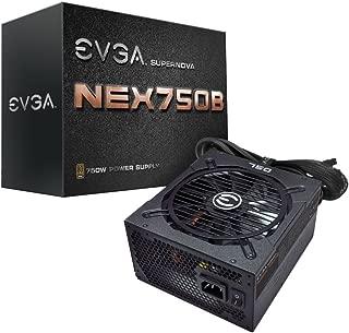 EVGA Supernova 750 B1, 80+ Bronze 750W, Semi Modular, 5 Year Warranty, Includes Free Power On Self Tester, Power Supply 110-B1-0750-VR