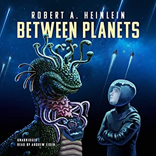 Between Planets audiobook cover art