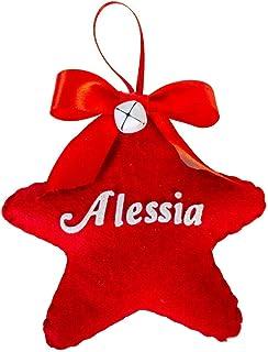 Stelline di Natale personalizzate Creamando idea regalo regali personalizzati natale originali stella natalizie decorazion...