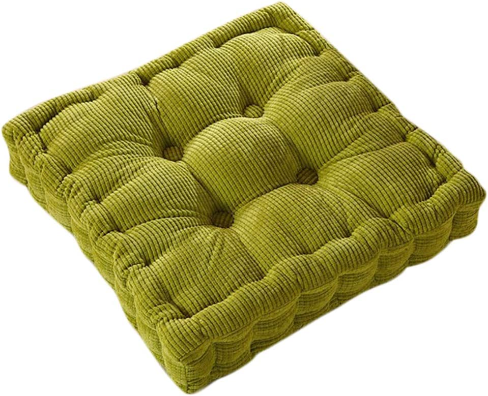 homozy Non-Slip Corduroy Dining Max 48% OFF Chair Cushion Pad Chicago Mall Roo for