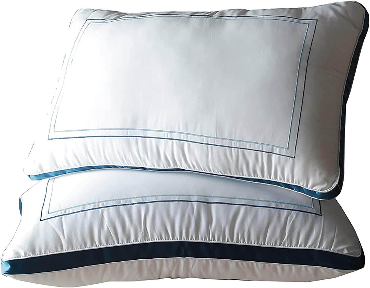 OSVINO Sleeping Pillows Discount Max 40% OFF is also underway 2 Pack Pi Hypoallergenic Guested Striped