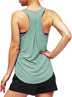 Bestisun Women Open Back Workout Long Sleeve Cute Backless Athletic Sport Shirts Gym Activewear