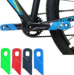 ganopper MTB Mountain Bike Crankset Caps Protector DH FR AM XC Rail Bicycle Crank Boots Dust Proof Cover …