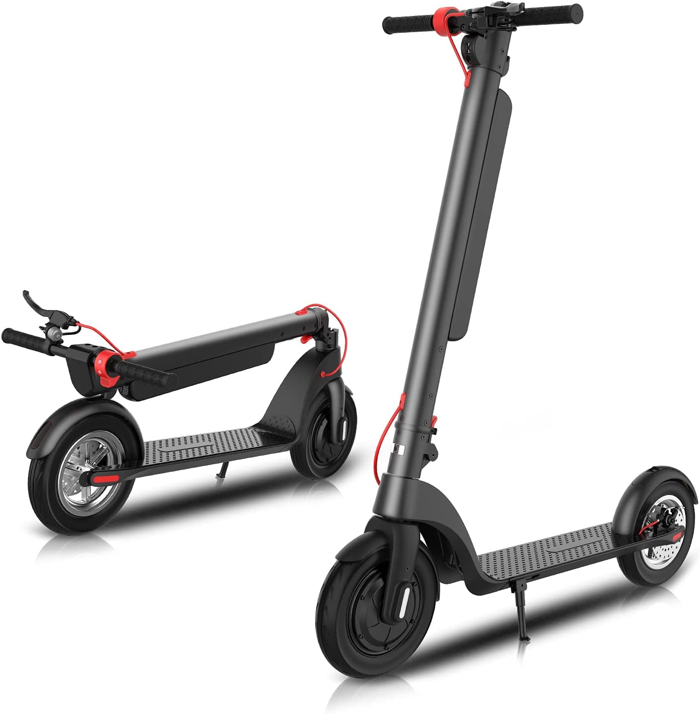 2020A/W新作送料無料 Electric Scooter for Adults Load Over lbs Scoo 10in Tire Fat 300 ギフト プレゼント ご褒美