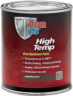 POR-15 44304 Aluminum High Temperature Paint - 1 quart