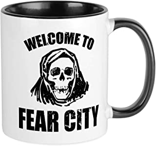 CafePress Welcome To Fear City Mugs Unique Coffee Mug, Coffee Cup