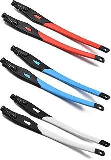 SOODASE - 3 Pares Patas de gafas de repuesto por Oakley Crosslink Montura de Gafas graduadas