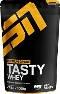 ESN Tasty Whey Protein – 1000g – Double Chocolate – Molkenproteinkonzentrat reich an EAAs und BCAAs – Instant – 33 Portionen – Made in Germany
