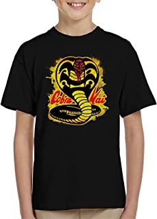 Cloud City 7 Cobra Kai Paint Splatter Logo Camiseta para niños