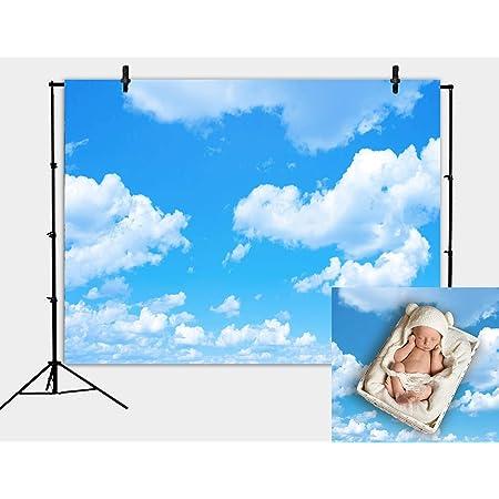 Daniu Fotohintergrund Mit Blauem Himmel Weiße Wolken Kamera