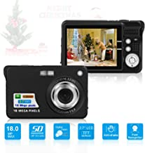HD Mini Digital Cameras for Kids Teens Beginners,Point...