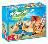 PLAYMOBIL - Set de Playa, Figuras Incluidas (4149)