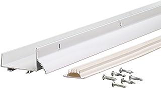 M-D Building Products M-D Ultra U-Shape Door Bottom with Vinyl Insert, Dry Cap, 36 in L X 1-3/4 in W, 69570