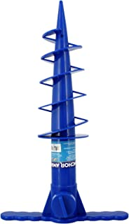 JGR Copa Beach Umbrella Anchor Sand Auger and Fishing Pole Sand Anchor (Blue)