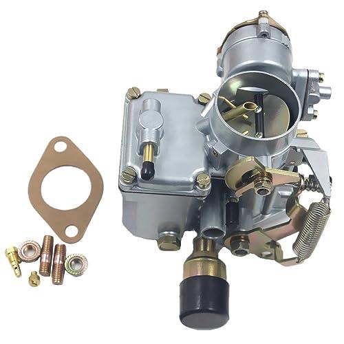 ifjf carburetor for vw beetles super beetles 1971-1979 dual port 1600cc  engine with 12v