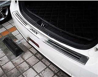 WJHNB Pédale de Protection de Plaque de Protection de seuil de Coffre arrière en Acier Inoxydable de Style de Voiture pour...