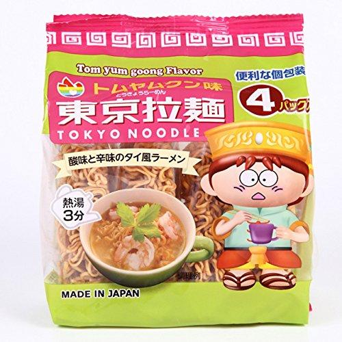 【東京拉麺】 トムヤムクン 120g×12袋入 ミニ ラーメン
