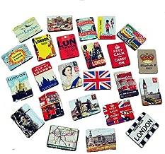 brave love London Magnetic Fridge Magnets -24 Pcs