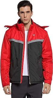 Men's Skiing Jackets Waterproof Windproof Rain Jacket with Hood