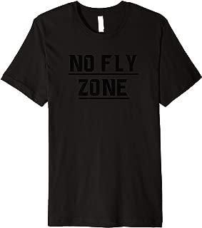 No Fly Zone Football Defense TShirt Premium T-Shirt