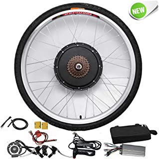 comprar comparacion Hansemay Kit de conversión de bicicleta eléctrica de 48V 1000W 26 Kit de conversión de motor de bicicleta eléctrica de la ...