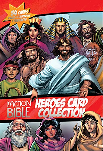 The Action Bible Heroes Card Collection: 54 Cards Filled with Devotions and Fun Facts (Action Bible...