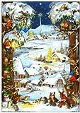 Adventskalender'Zwergenweihnacht': Papier-Adventskalender