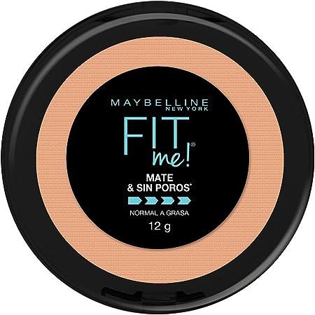 Maybelline Super Natural Polvo Compacto Matte, 230 Nat Buff, 12 gr