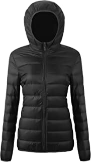 CIOR Women's Packable Down Jacket Ultra Light Weight Coat with Travel Bag