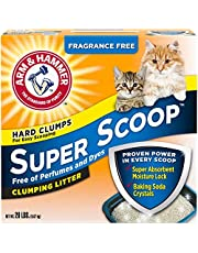 Super scoop clumping Litter (fragrance free ) 9.7 kg