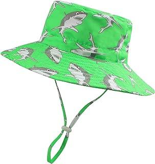 Baby Boy Sun Hat UPF 50+ Toddler Girl Summer Bucket Hats Kid Outdoor Beach Cap for 6M-6T