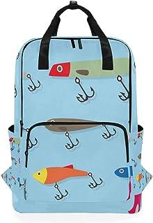 FANTAZIO mochila de señuelos de pesca, casual, mochila