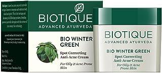Bio invierno Anti-acne de corrección de punto verde crema para piel grasa y acné propensos